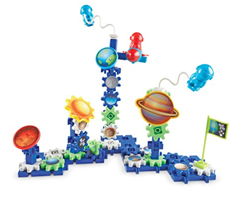 Learning Resources Gears! Gears! Gears! Space Explorers Building Set, Gears & Construction Toy, 77 Pieces, Ages 4+