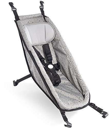 Croozer Babysitz für Kid ab 2014 Stone Grey/Colored 2020 Fahrradanhänger