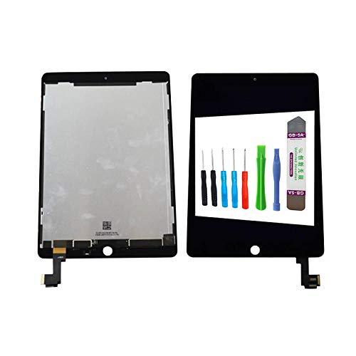 MPP UG - Pantalla táctil LCD con digitalizador para iPad Air 2 (Incluye Herramientas), Color Negro