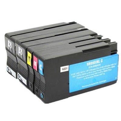 5cartuchos de tinta de HP 950y 951XL para HP OfficeJet Pro 8100e 86008600Plus Printer