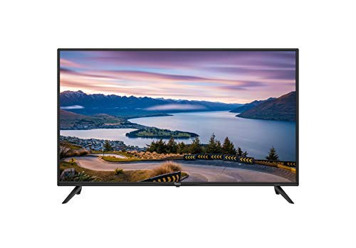 Impecca 40-Inch LED Full HD TV T4000F (2020 Model) Energy Star Slim Design 1080p, Built-in Speakers with Multiple Imputes HDMI, USB Ports with Remote, Wall Mountable