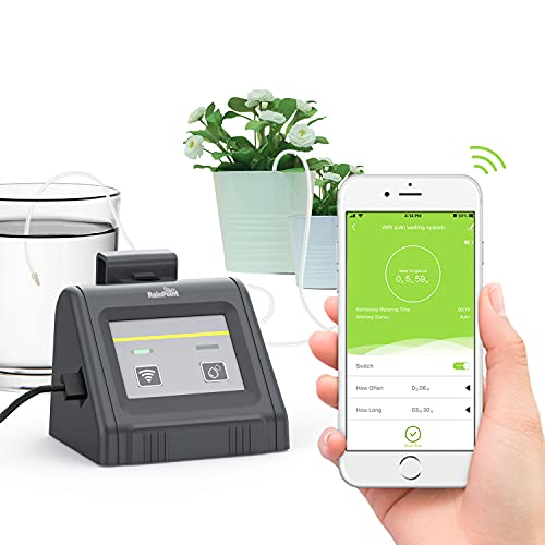 RAINPOINT WiFi Automatic Watering System, Indoor Intelligent APP Automatic Watering System, Indoor Plant Watering and Irrigation System