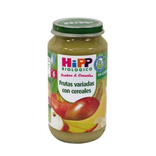 HiPP Biológico Tarrito Frutas Variadas con Cereales - 250 gr