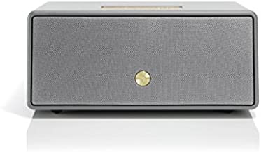 Audio Pro Drumfire D-1 High Fidelity WiFi Bluetooth Wireless Multi-Room Speakers Compatible with Alexa, Computers, Laptop, Desktop, Cellphone & Tablet - Grey