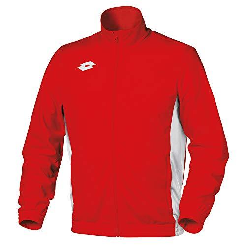 Lotto Herren Delta Sweatshirt-Jacke (XL) (Flamme/Weiß)