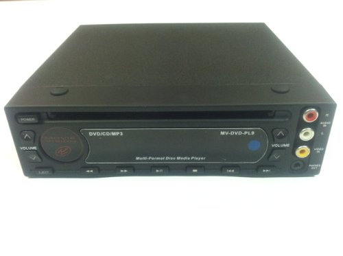 Movie Vision Full-DIN in-Dash DVD Player