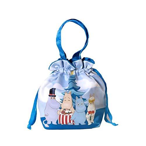Outflower Monedero con Cordón Dibujo con Hipopótamo de Tela para Duradero Bolso de Tarjetas de Color Bandolera Mini Bolso Infantil Poner Llavero