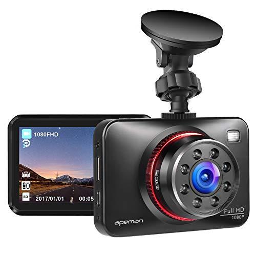 apeman Dashcam Full HD Autokamera 1080P DVR mit 170¡ã...
