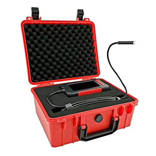 Inspection Camera - 8mm Cliff Borescope with 16.5Ft Hard Wire + 4.3