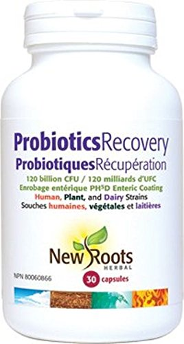 New Roots Probiotic Recovery 120 Billion CFU, 30 Capsules
