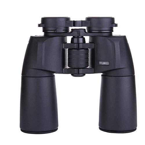 HEZHANG Binoculares de Baja Luz de la Noche Visión Nocturna Binocular Telescopio de Gran Angular Bak4 Hd Prisma Binoculares Impermeable para la Observación de Aves Viajes de Viaje Stargazing Concerts