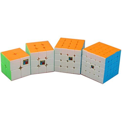 MoYu MoFangJiaoShi Cubing Classroom MeiLong magic puzzles cubes Bundle 2x2 3x3 4x4 5x5 magic puzzles...