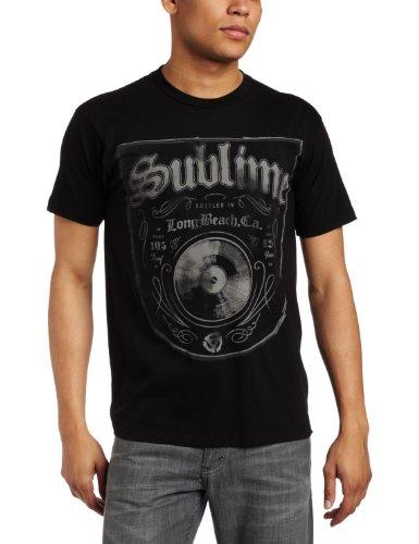 FEA Merchandising Men's Sublime Bottled In LBC Slim Fit T-Shirt, Black, Large