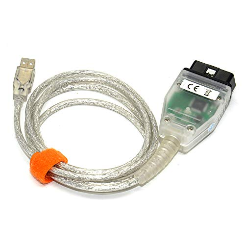 Aidixun INPA DCAN Cable K+DCAN Cable Compatible for BMW E Serials, Work with ISTA SSS NCS Coding Winkfp Programing