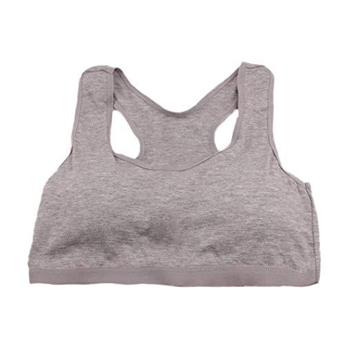 Longra Baby meisjes ondergoed BH vest Solide sport ondergoed meisjes sport-bh basic tank top crop tops casual lingerie, bovendeel