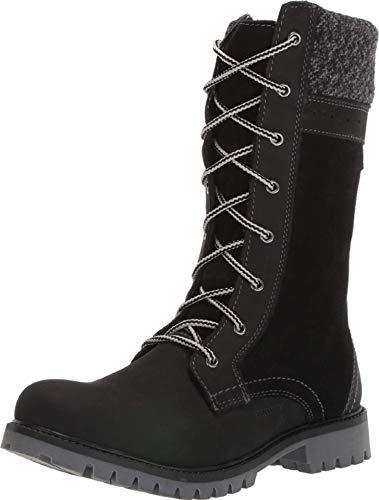 Kamik Mädchen TAKODA2 Hohe Stiefel, Schwarz (Black Blk), 34 EU
