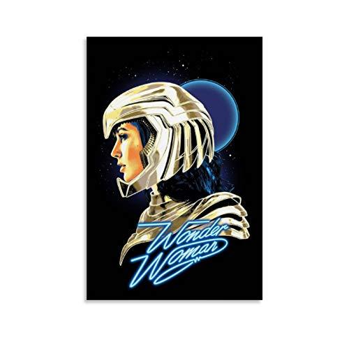 SSKJTC Artworks Wonder Woman 1984 Armor Portrait für Wohnzimmer und Büro, 50 x 75 cm