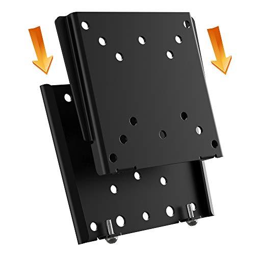 RICOO F0311, Monitor Wand-Halterung Flach, Fix, Starr, Universal 13-32 Zoll PC Bildschirm LCD LED Display TV-Halterung, bis 30Kg & VESA 50x50-100x100