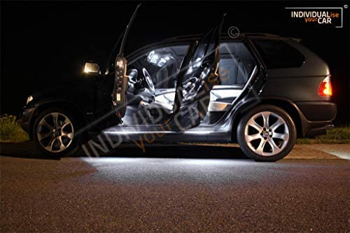 Innenraumbeleuchtung Set Für X5 E53 Cool White Auto