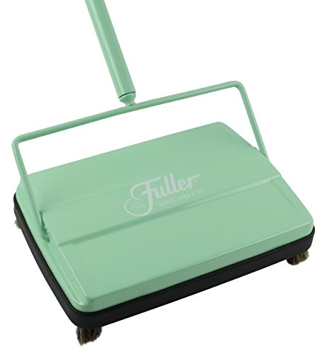 "Fuller Brush 17027 Electrostatic Carpet & Floor Sweeper - 9"" Cleaning Path - Black"