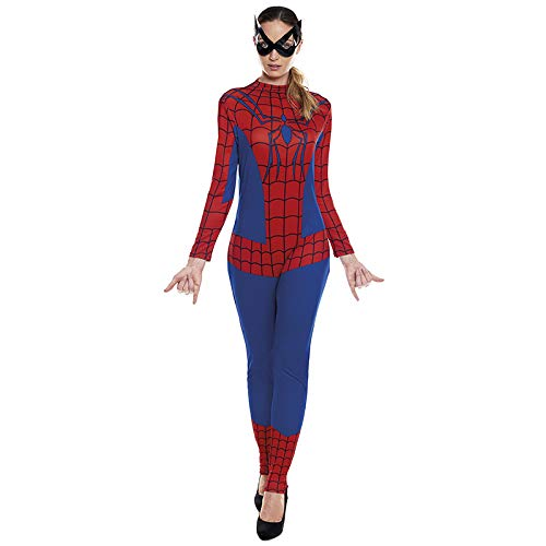Disfraz Superheroína Spider Girl Mujer【Tallas Adulto S a L】[Talla S] | Disfraces Mujer Superhéroes Carnaval Halloween Regalos Chicas Cosplay Cómics