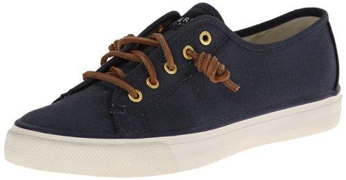 Sperry Women's Seacoast Fashion Sneaker, Navy, 9 M US