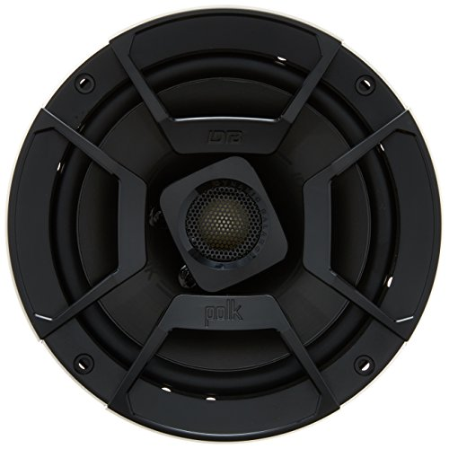 "Polk Audio DB652 Black Ultramarine Dynamic Balance Coaxial Speakers, 6.5"", 2 Pack"