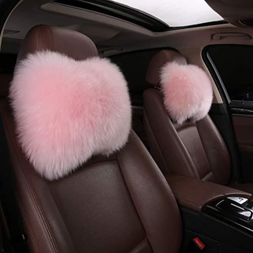SPANICE Car Headrest Pillow Interior Head Neck Cushion Auto Protector Neck Rest Pillows Car Decor...
