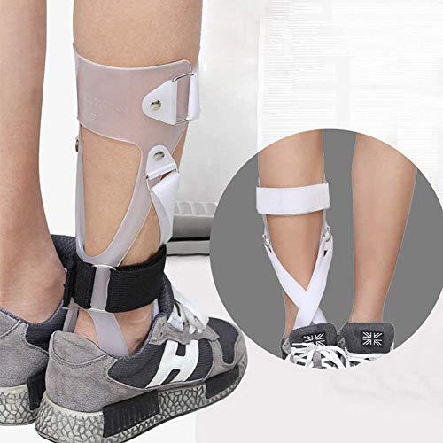 Wxnnx AFO Brace - Férula de Soporte de pie caído Soporte de corrección postural - Soporte médico de ortesis de Tobillo y pie para Hombres y Mujeres,Left,L
