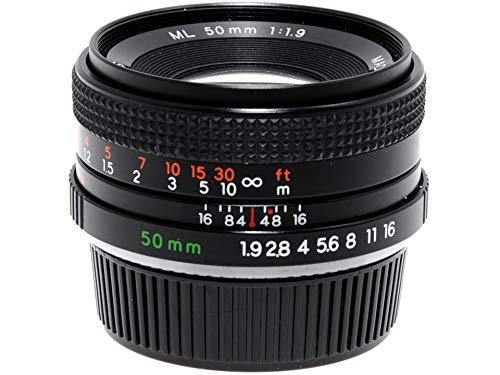 Lente Yashica ML 50 mm f2 para cámaras réflex analógicas Contax/Yashica