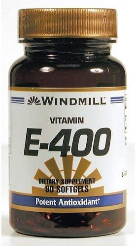 Vitamin Selling rankings E SFGL 400 IU WMILL SYN Size: Elegant 90