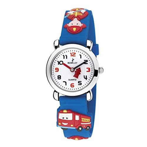 Reloj Nowley Infantil Azul Bombero 8-5582-0-1