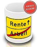 Smilu Kaffeetasse zum Renteneintritt - Lustiges Geschenk für Männer, Frauen, Kollegen, Lehrer in...