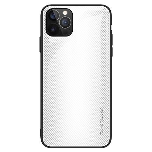 Custodia compatibile con iPhone 12 Pro Max per iPhone 12 Pro Max Cover 9H in vetro HD + TPU Soft Frame Bumper Bumper Bumper Cover Cover Cover Cover Ma