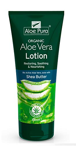 (Pack Of 2) Organic Aloe Vera Lotion   ALOE PURA