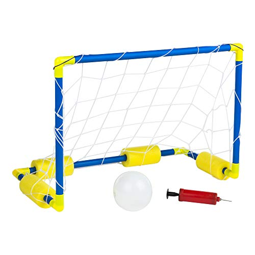 ColorBaby - Porterías waterpolo, Portería waterpolo piscina, Portería para piscina, 61x29x40 cm, balón hinchable, hinchador, +3 años, juegos de exterior, juegos de verano, CB Toys (42684)