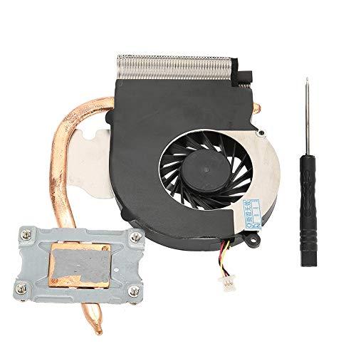 Ventilador interno de enfriamiento de CPU, Ventilador de enfriamiento de CPU Ventilador de disipador térmico para HP Compaq CQ43 CQ57 431 630 631 Ventilador de CPU, motor muy silencioso, Ventilador