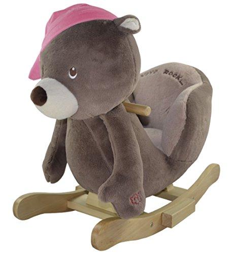 Sweety Toys 4836 Schaukeltier Schaukelpferd Bär Annie