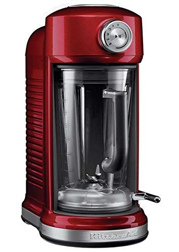 KitchenAid 5KSB5080ECA - Licuadora multifunción, 1500 W, color rojo