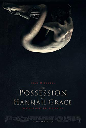 Poster The Possession of Hannah Grace Movie 70 X 45 cm