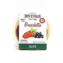 ORTI D'ITALIA Olive Bruschetta, 5.3 oz