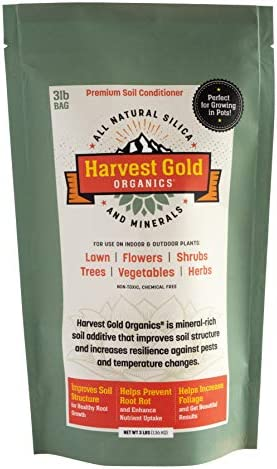 Harvest Gold Organics Organic Soil Conditioner Natural Soil Amendment for Houseplants Flowers product image