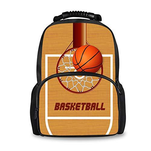 Coloranimal Kinderrucksack Mehrfarbig Basketball-3