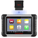 Autel Scanner MaxiCOM MK808BT OBD2 Scan Tool, Supports Full System Diagnosis, ABS Auto Bleed, Key Fob Programming, Oil Reset, EPB, BMS, SAS, DPF, Upgraded Version of MK808 / Maxicheck Pro