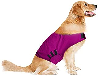 laamei Anti-Anxiety Dog Jacket Lightweight Wrap Anxiety Coat Pet Stress Relief Shirt Warm and Soft Calming Vest for Small Medium Large Petst