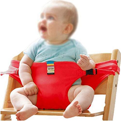 Chaise de bébé Chaise Haute pour bébé Chaise Haute pour bébé Chaise Haute pour bébé (Color : Red)