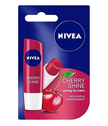 Nivea Fruity Shine Cherry Lip Balm (4.8 g)