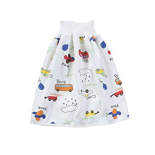 Baby windelrock Aus Baumwolle Anzug 4 Stück Waschbarer Und Wiederverwendbarer Windelrock, Geeignet Für Babys