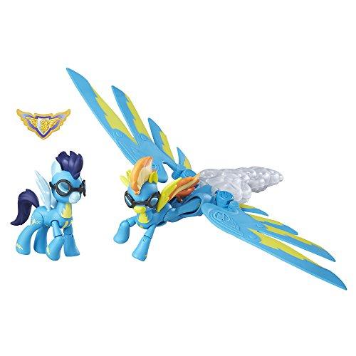 Hasbro My Little Pony Guardians of Harmony Spitfire and Soarin' Figures - Kits de Figuras de Juguete para niños, 4 años