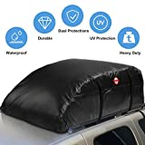 Waterproof Car Top Carrier- Roof Cargo Bag Box Easy to Install Soft Rooftop